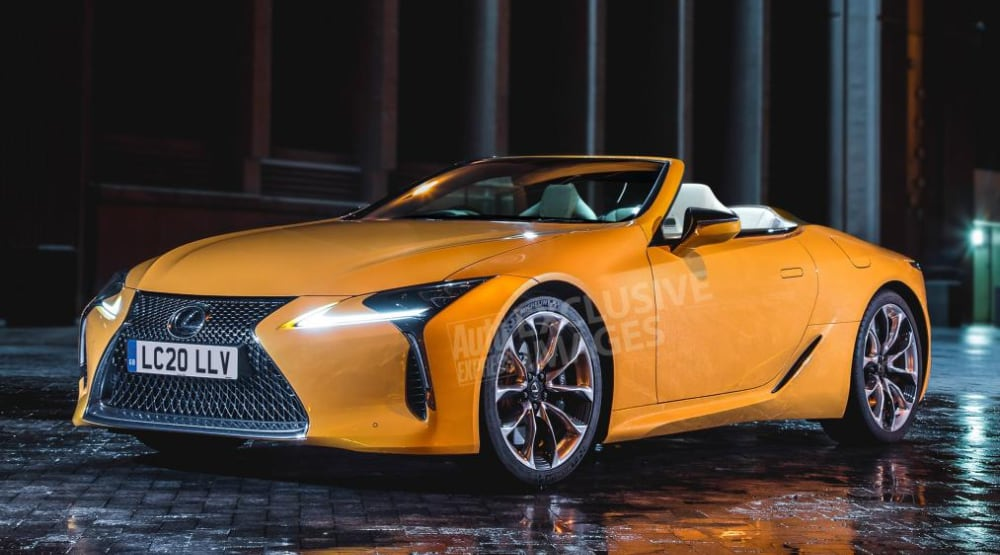 Lexus Lc Convertible To Be Released By 2020 Lexus Enthusiast