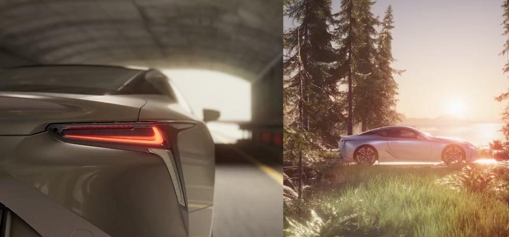 Lexus 3D Engine Unity