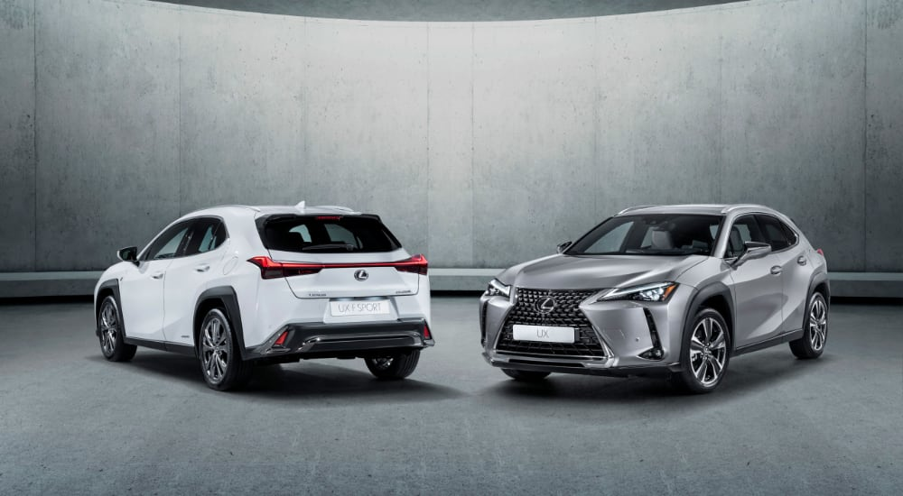 Lexus UX Europe Sales