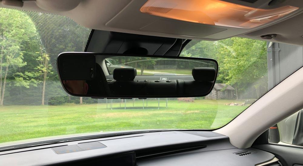 Lexus Dash Cam Hidden