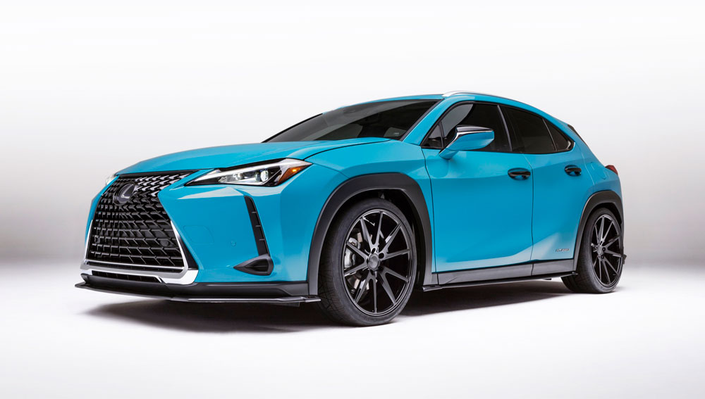 Lexus UX Modified