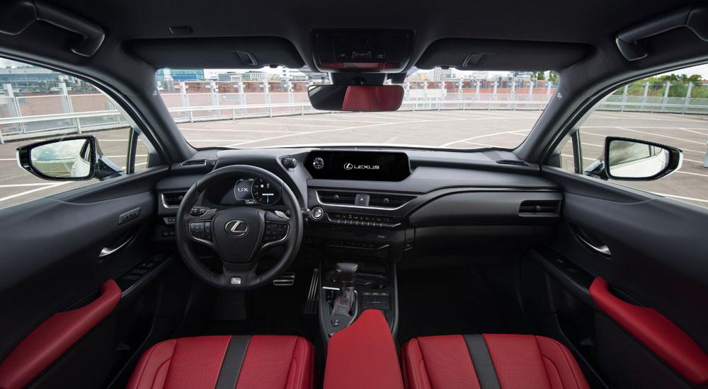 Lexus UX F SPORT Interior