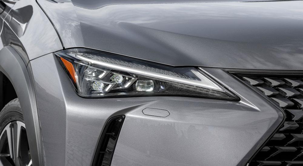 Lexus UX Front Headlights