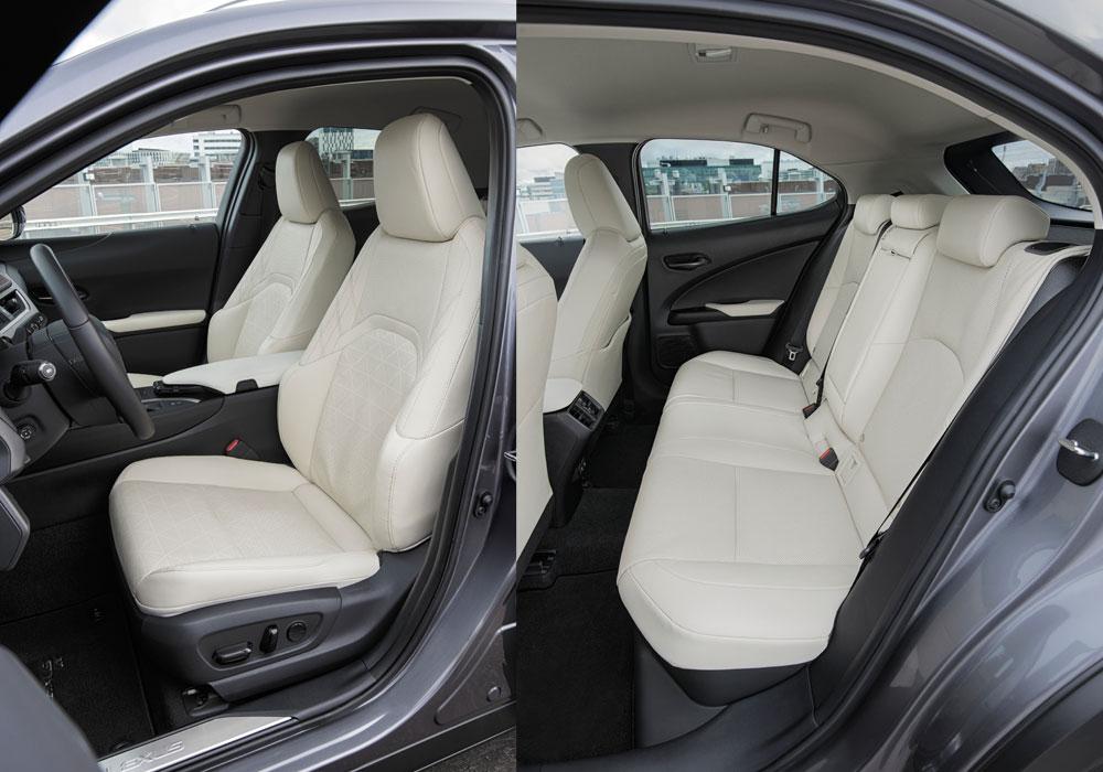Lexus UX Interior Seats