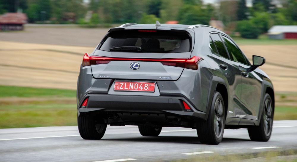 Lexus UX Rear Driving