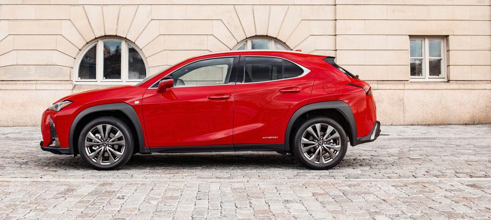 Lexus UX Side 2