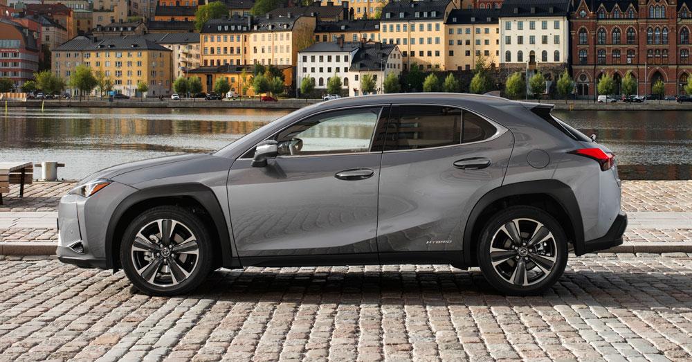 Lexus UX Side Profile