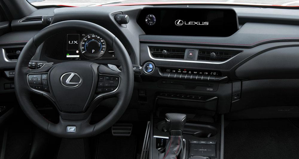 Lexus UX Interior Steering Wheel