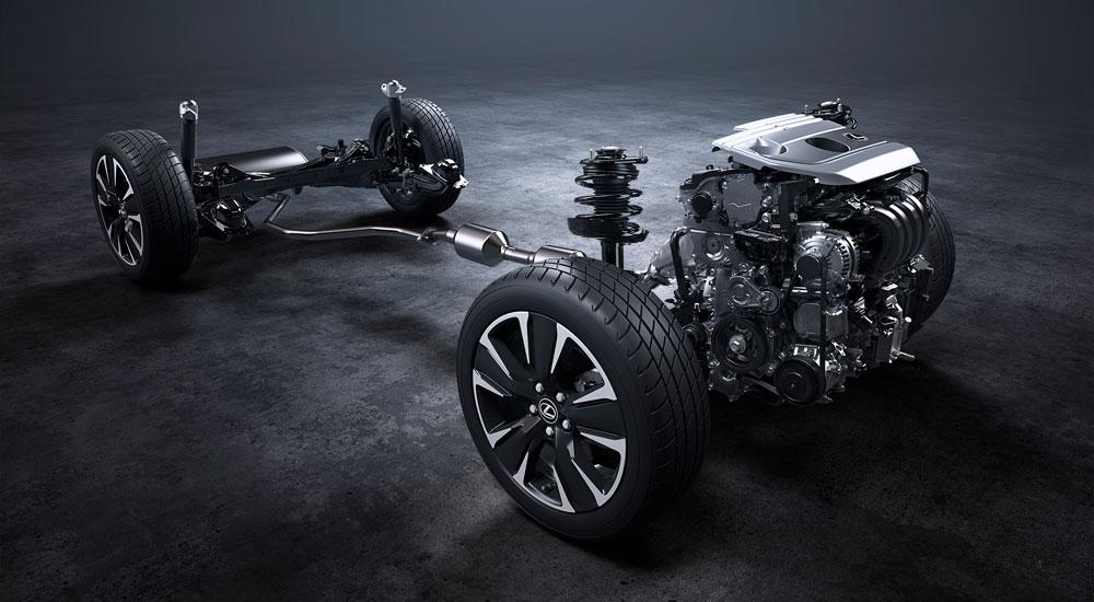 Lexus UX Suspension