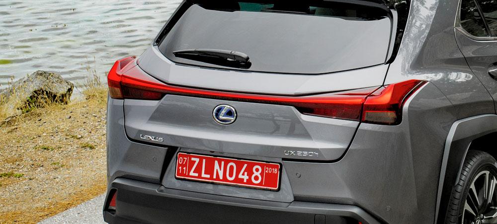 Lexus UX Tail Lights
