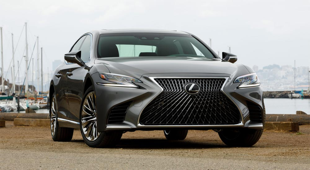 Lexus LS August Sales