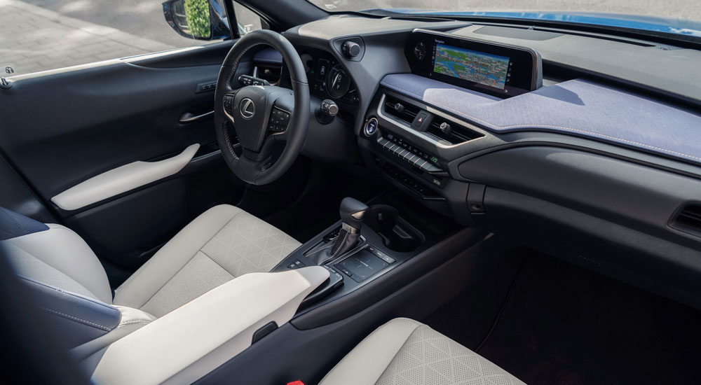 Lexus UX Interior Blue