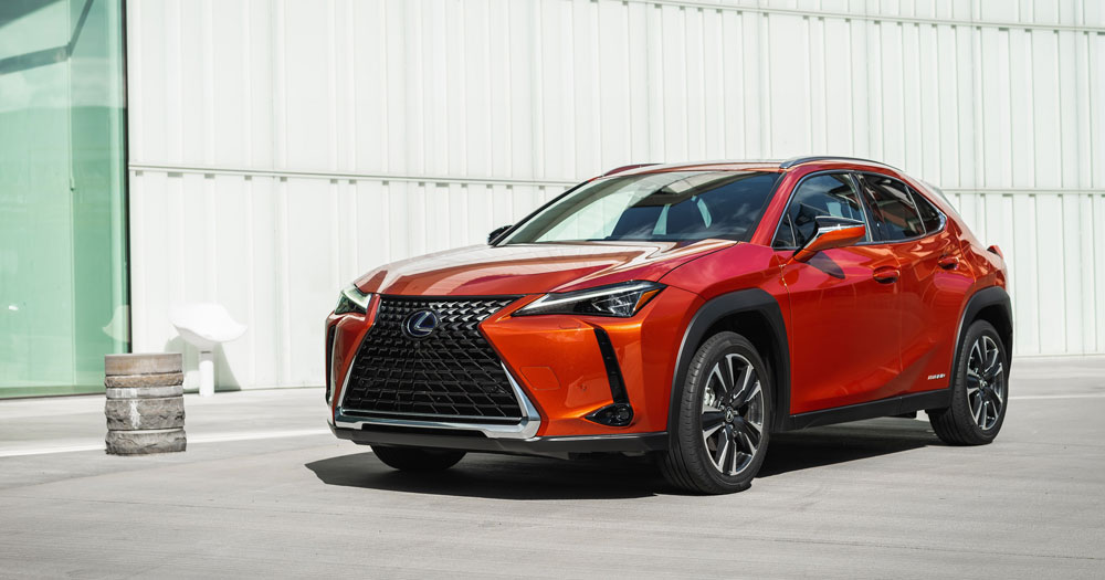 Lexus UX Pricing USA
