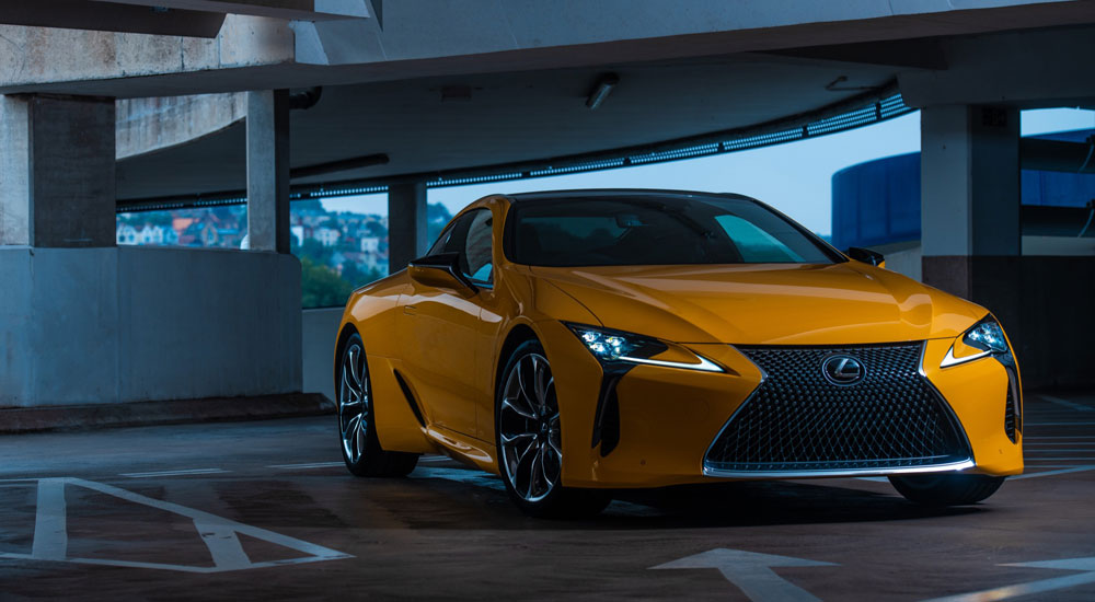 Lexus UK LC Coupe