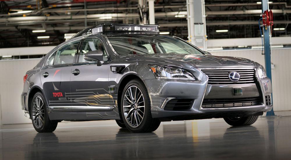 Lexus Autonomous Driving