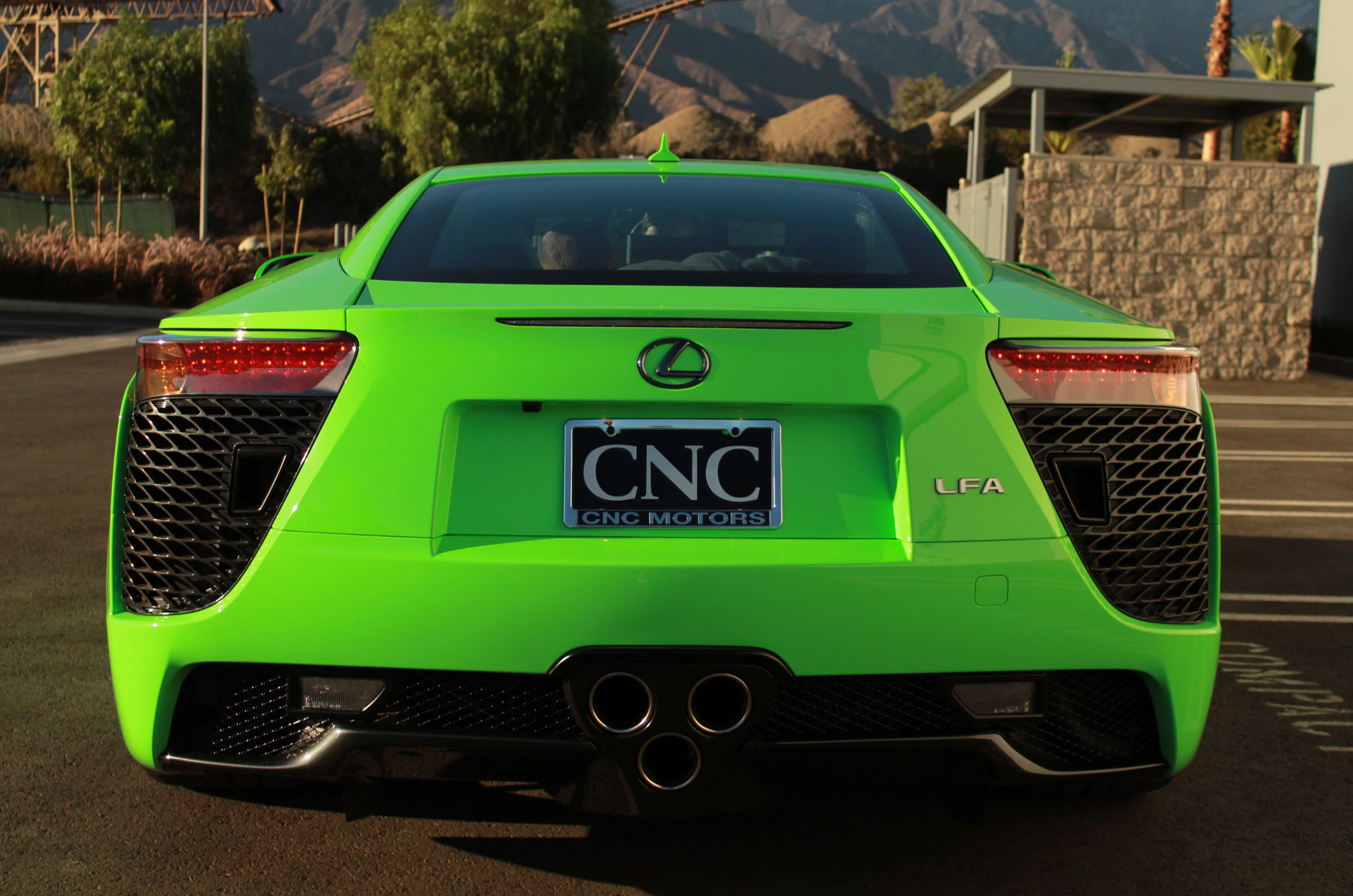 Fresh Green Lexus LFA for Sale in California