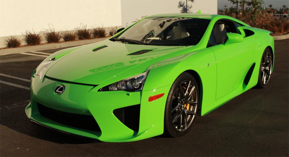 Lexus LFA Green