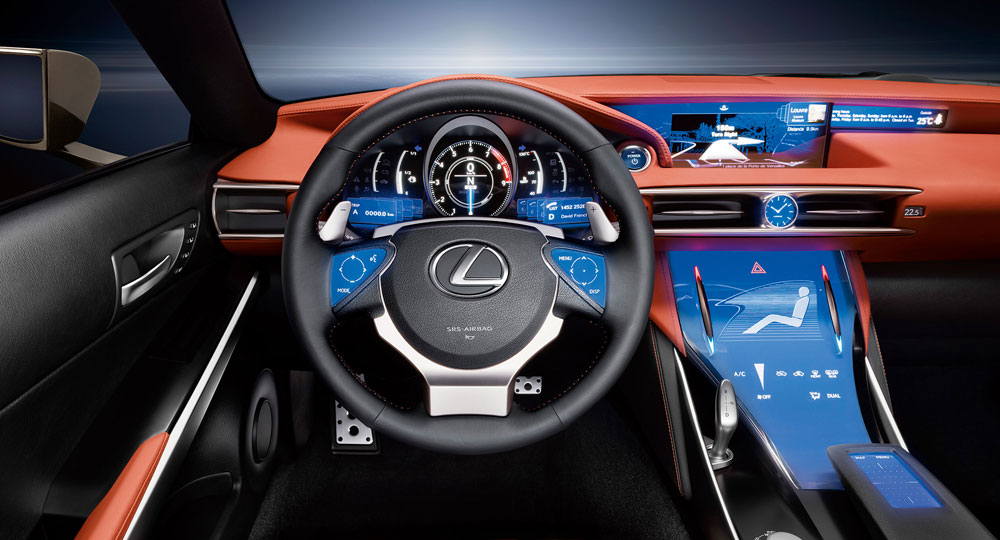 lexus nx remote touch interface