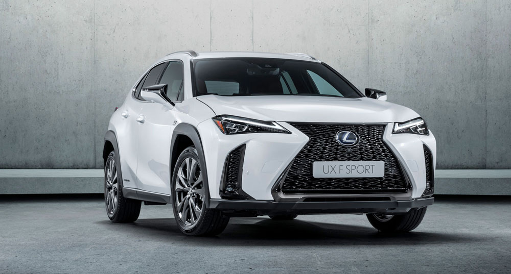 Lexus Ux Crossover To Be Brand S First Full Electric Vehicle Lexus