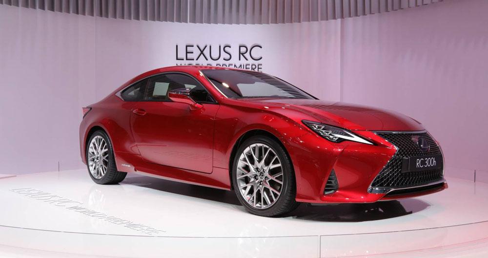 Lexus RC 2019 Paris Motor Show