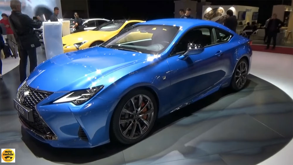 Lexus RC F SPORT Paris 2019