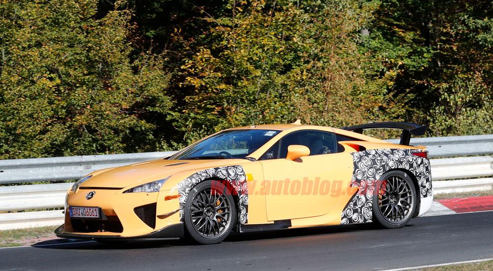 Lexus LFA Successor Side