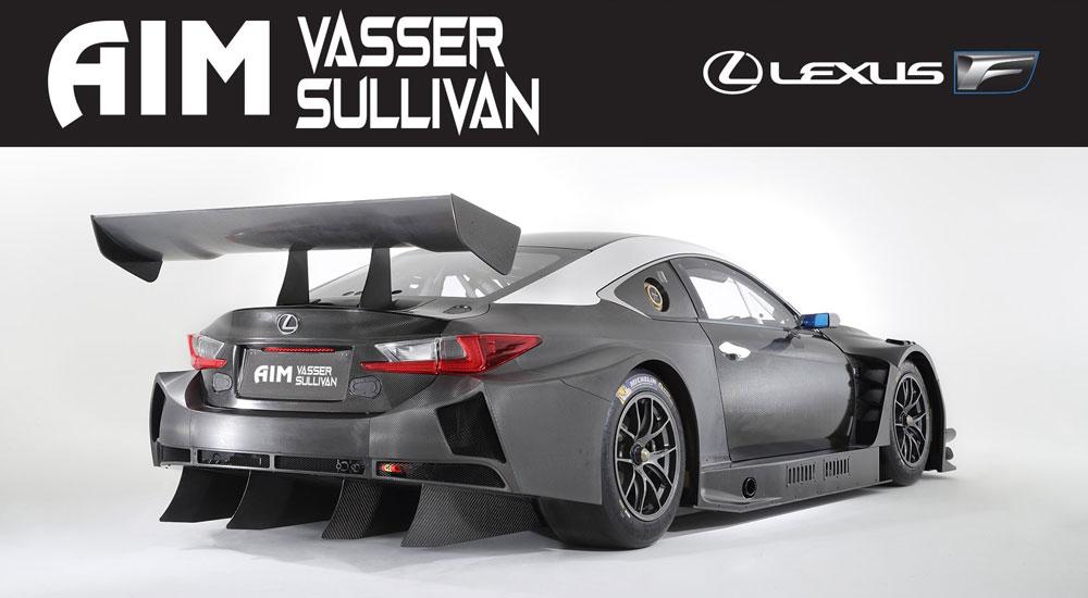 Lexus RC F GT3 AIM Vasser Sullivan