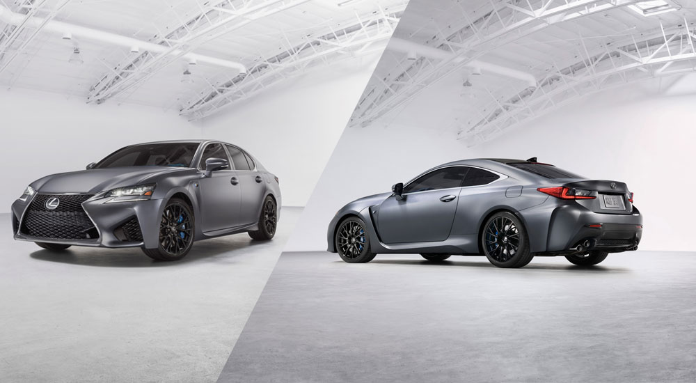 Lexus RC F GS F Special Edition