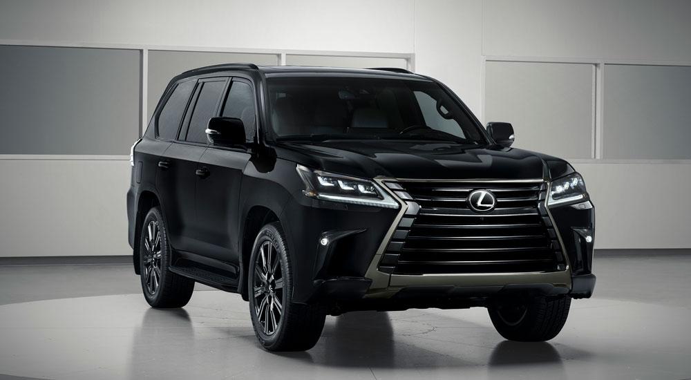 inspiration series lexus lx 570 gets blacked