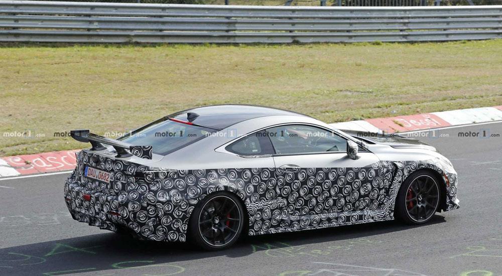 Lexus RC F GT Back