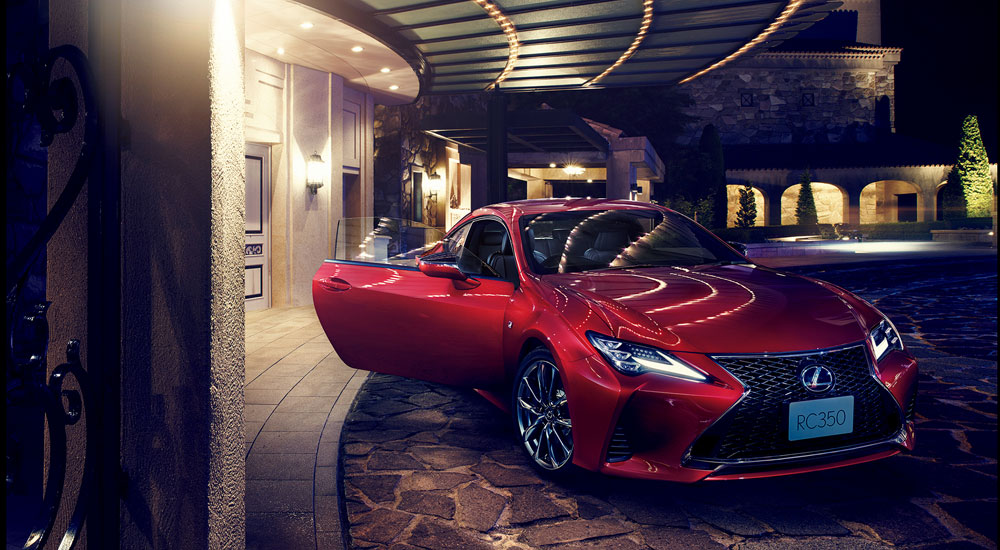 Lexus RC Japan 2019