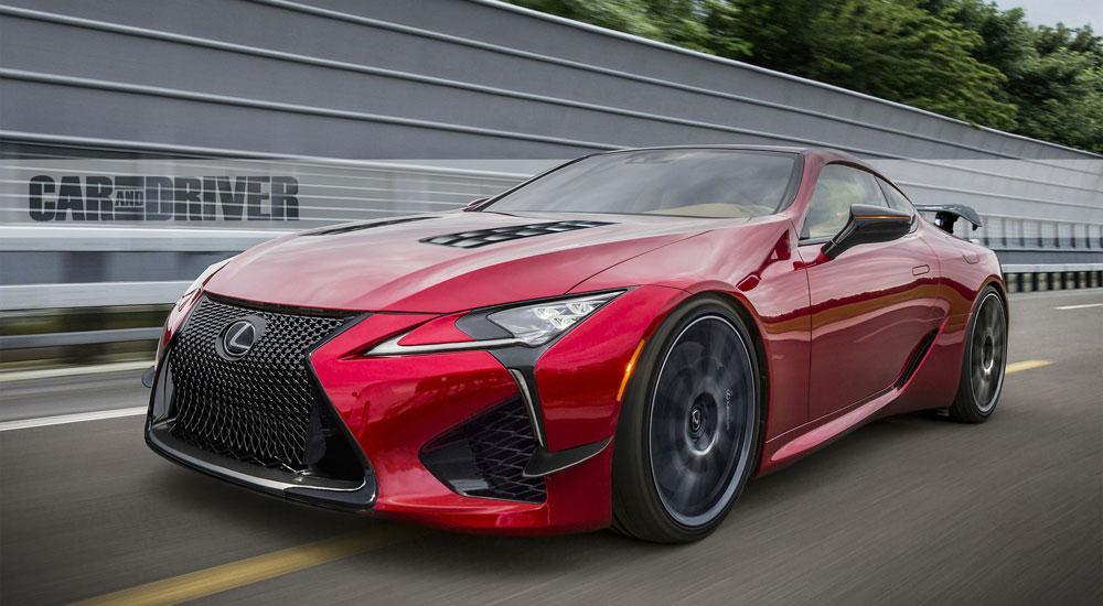 Lexus LC F Hybrid