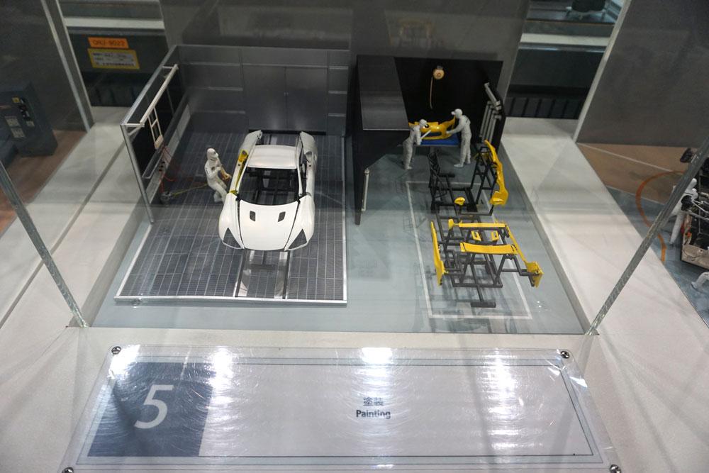Lexus LFA Diorama 3