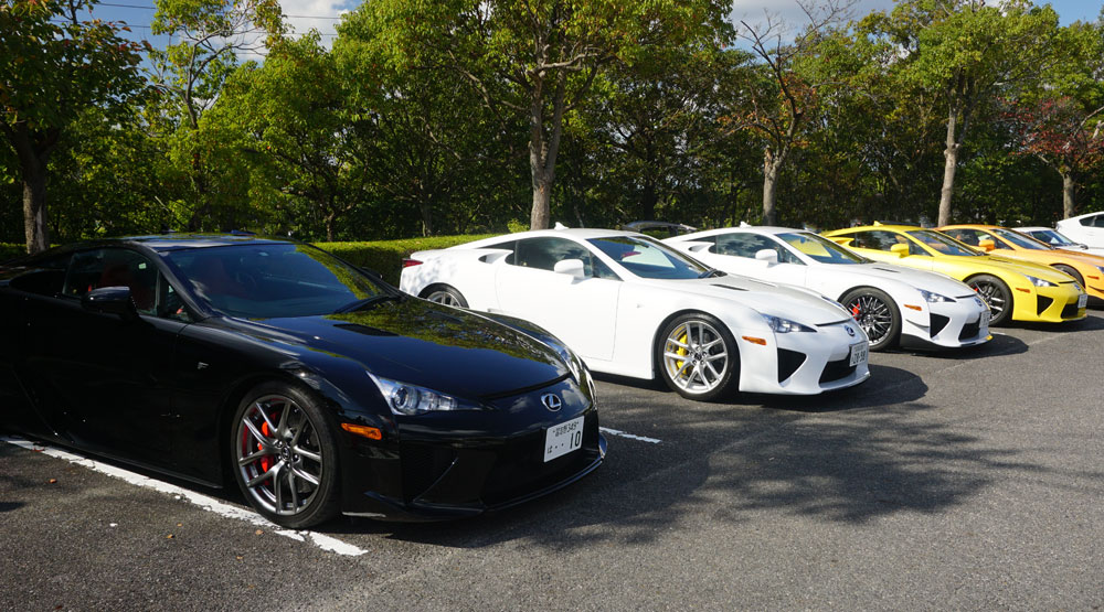 Lexus LFA Owners Meet