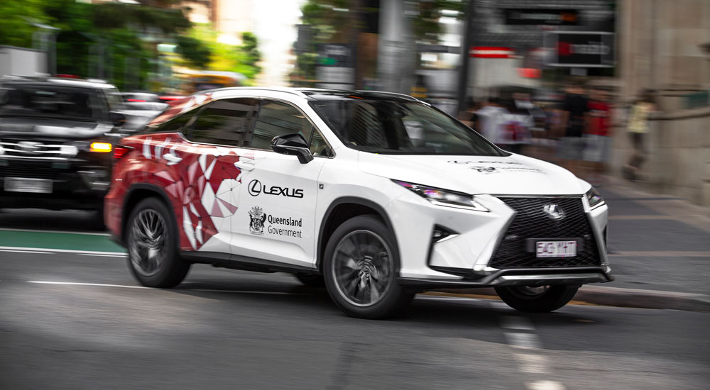 Lexus RX Automated Driving