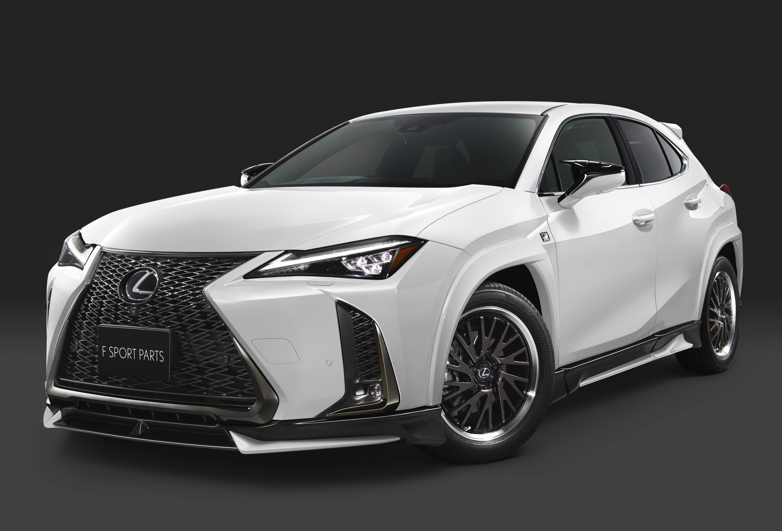 Lexus Rx F Sport >> TRD Japan Releases Body Kit for New Lexus UX F SPORT ...