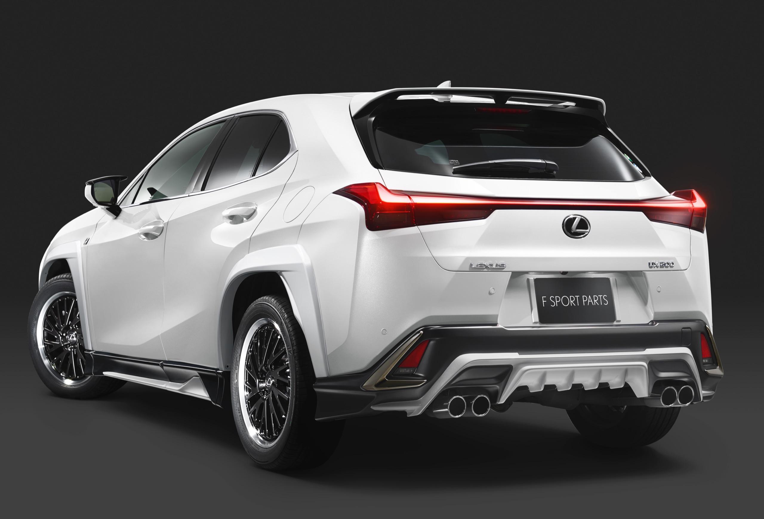 Lexus F Sport Price >> TRD Japan Releases Body Kit for New Lexus UX F SPORT Crossover | Lexus Enthusiast