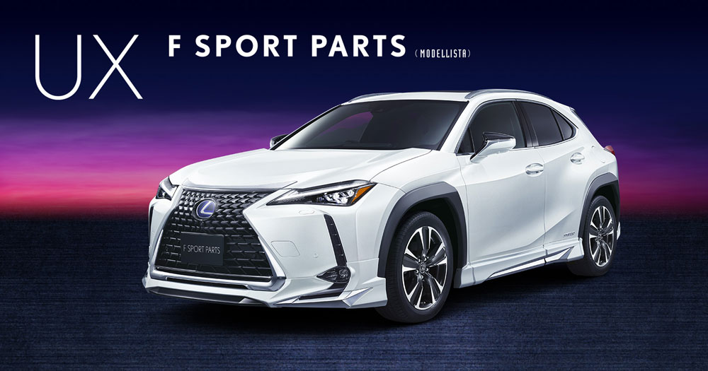 Lexus UX Body Kit Modellisa