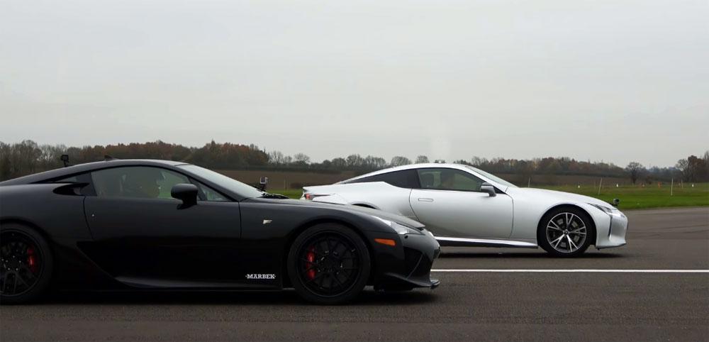 Lexus LFA vs Lexus LC 500