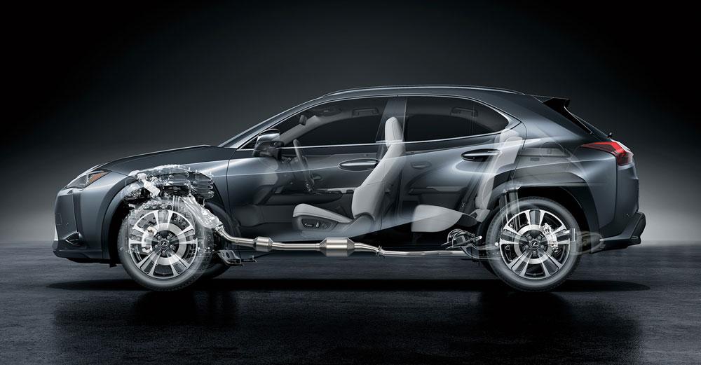 Lexus UX Hybrid Powertrain