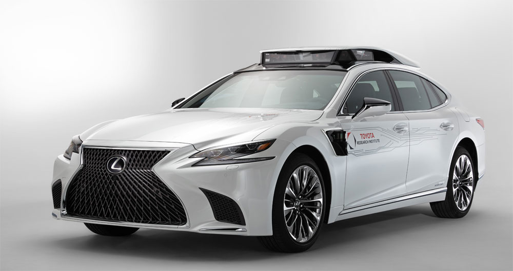 Lexus LS Automated Test Vehicle