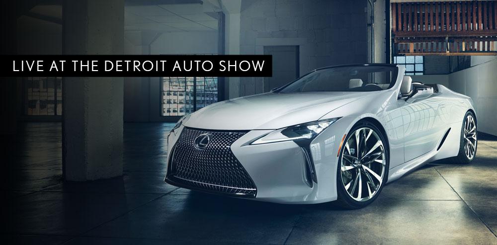 Lexus LC Detroit Auto Show 2019