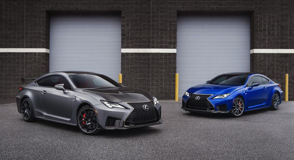 Lexus RC F Track Edition & Standard