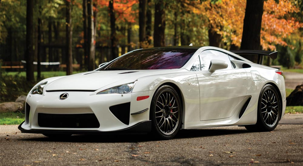 Lexus LFA Nürburgring Auction