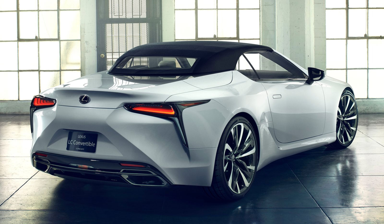 Lexus LC Convertible Rear