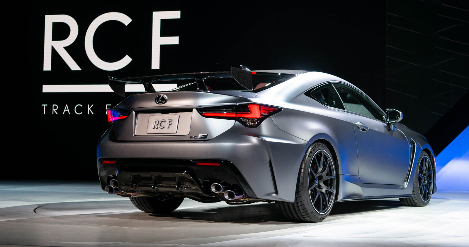 Lexus RC F Track Rear 2