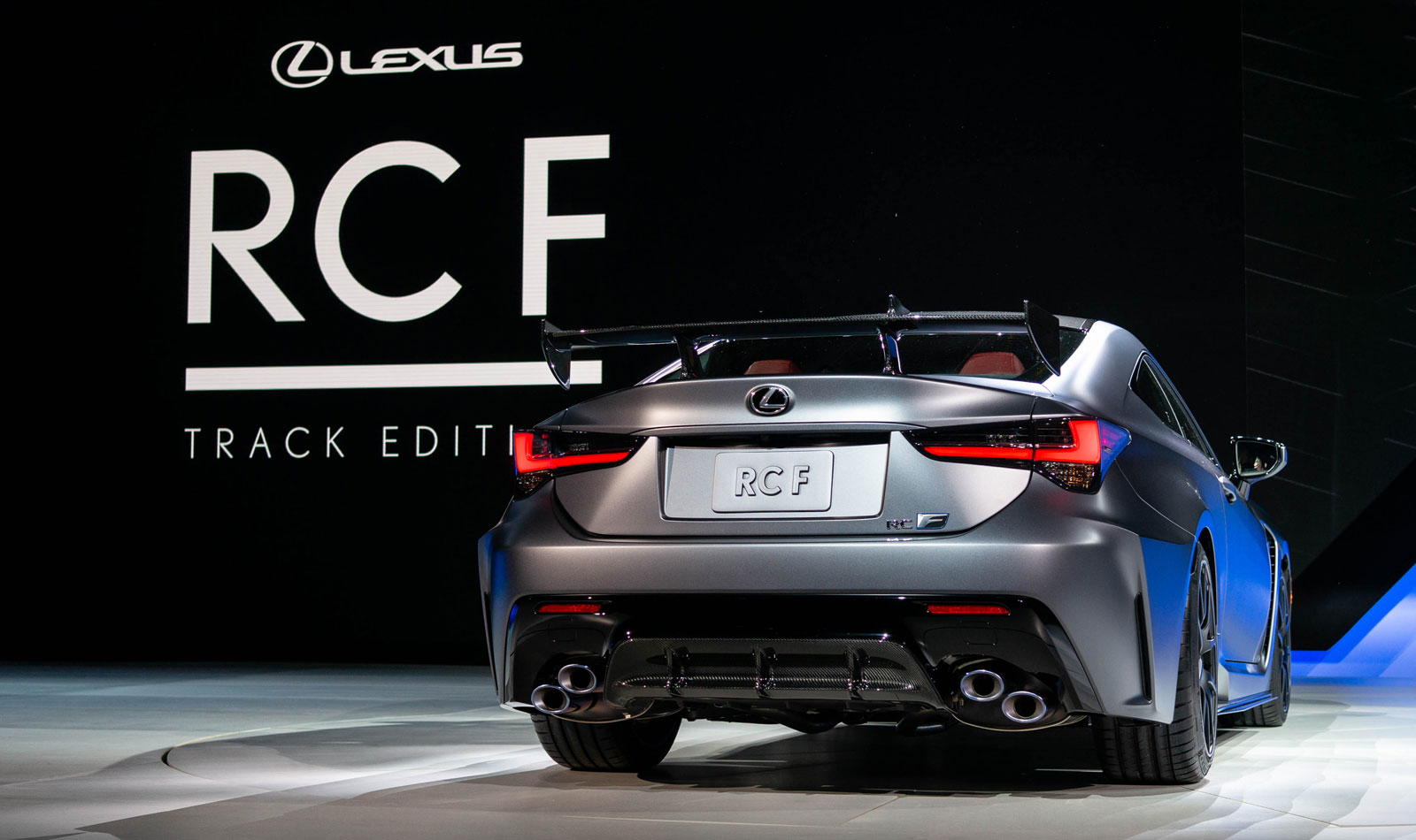 Lexus RC F Track Rear