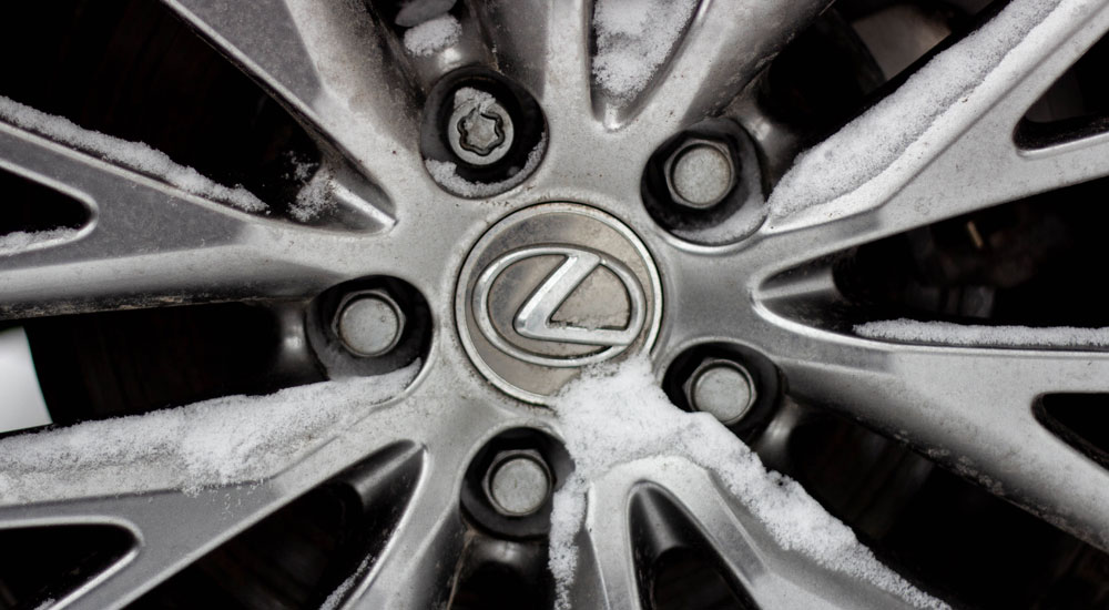 Lexus IS Snow Wheel