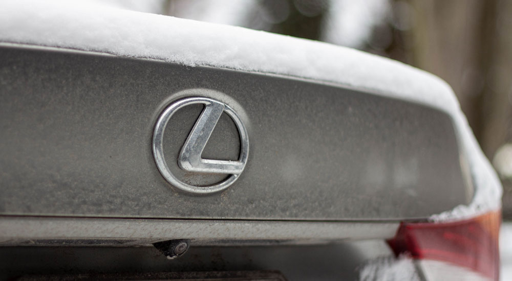 Lexus IS Snow Blog