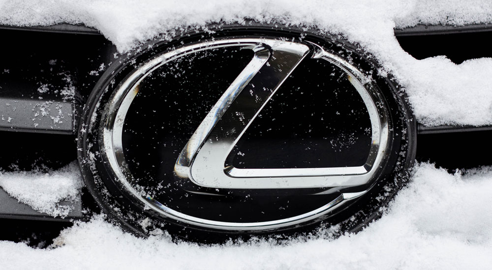 Lexus IS Blog Snow
